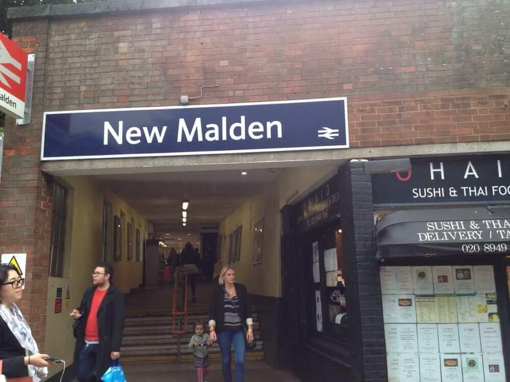 New Malden Station